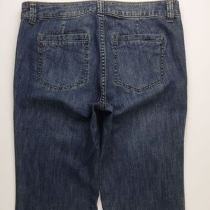 CAbi 318R Wide Leg Flare Jeans Women's 6 Mid A220J